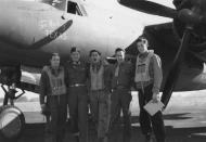 Asisbiz USAAF 41 17985 B 26B Marauder 322BG Too Much of Texas with flight crew England 14 May 1943 01