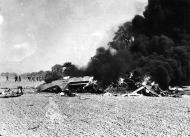 Asisbiz USAAF 41 17988 B 26B Marauder 322BG452BS DRR crashed near home base 14 May 1943 02