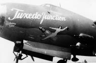 Asisbiz USAAF 41 18194 B 26B Marauder 320BG444BS Tuxedo Junction nose art 01
