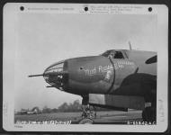 Asisbiz USAAF 41 31600 B 26B Marauder 386BG553BS ANU The Mad Russian England 27 Nov 1943 01