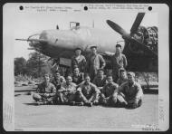 Asisbiz USAAF 41 31606 B 26B Marauder 386BG553BS ANS Rat Poison with crew Dunmow Essex England 16 Aug 1943 01