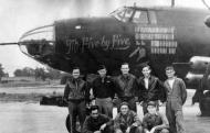 Asisbiz USAAF 41 31612 B 26B Marauder 386BG555BS YAZ Mr Five by Five with crew 1944 01