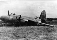 Asisbiz USAAF 41 31620 B 26B Marauder 386BG552BS RGR Black Magic left main gear failed to lower 01