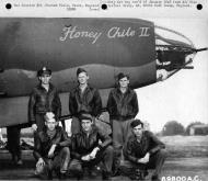 Asisbiz USAAF 41 31636 B 26B Marauder 386BG554BS RUB Honey Chile II Boxted England Sep 12 1943 01