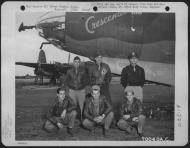 Asisbiz USAAF 41 31644 B 26B Marauder 386BG555BS YAC Crescendo with crew Great Dunmow Essex Engalnd 1 Sep 1943 01