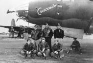 Asisbiz USAAF 41 31644 B 26B Marauder 386BG555BS YAC Crescendo with crew Great Dunmow Essex Engalnd 1 Sep 1943 02