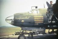 Asisbiz USAAF 41 31694 B 26B Marauder 387BG556BS FWF Hangover Hut with ground crew 01