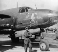 Asisbiz USAAF 41 31707 B 26B Marauder 387BG557BS KSR Five by Fives nose art 04