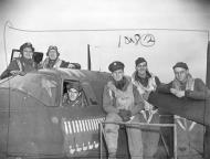 Asisbiz USAAF 41 31741 B 26B Marauder 322BG449BS PNN Winnie Dee JR Spence and crew England 11 Nov 1943 01