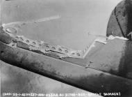 Asisbiz USAAF 41 31746 B 26B Marauder 322BG after being hit by German 20mm cannon fire 27 Aug 1943 01