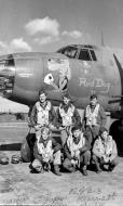 Asisbiz USAAF 41 31818 B 26B Marauder 323BG453BS VTC Red Dog II with crew 01
