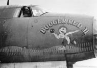 Asisbiz USAAF 41 31874 B 26B Marauder 387BG559BS TQO Booger Red II Maj Howard D Deacon Hively of the 4FG 01