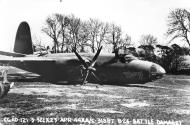 Asisbiz USAAF 41 31887 B 26B Marauder 322BG452BS DRG Mary crash landing at Andrews Field England 23 Apr 1944 02