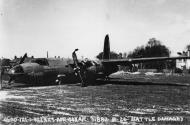 Asisbiz USAAF 41 31887 B 26B Marauder 322BG452BS DRG Mary crash landing at Andrews Field England 23 Apr 1944 03