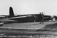 Asisbiz USAAF 41 31888 B 26B Marauder 322BG450BS ERH War Eagle after crash landing at Andrews Field 10 May 1944 01