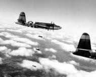 Asisbiz USAAF 41 31918 B 26B Marauder 323BG454BS RJR over the drop zone Normandie 1944 01