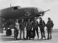 Asisbiz USAAF 41 34692 B 26C Marauder 323BG454BS RIJ Mr Fala with crew England 17 Aug 1943 01A