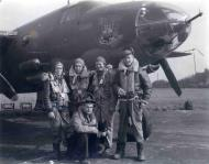 Asisbiz USAAF 41 34692 B 26C Marauder 323BG454BS RIJ Mr Fala with crew England 17 Aug 1943 01b
