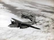 Asisbiz USAAF 41 34763 B 26C Marauder 322BG449BS PNJ with PNA over Europe 1943 01