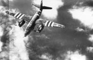 Asisbiz USAAF 41 34857 B 26C Marauder 323BG454BS RJO The Jill Flitter during a mission June 1944 02