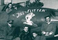Asisbiz USAAF 41 34857 B 26C Marauder 323BG454BS RJO The Jill Flitter with crew June 1944 01