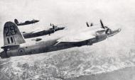 Asisbiz USAAF 42 107718 B 26C Marauder French Airforce 29 in formation 1944 01