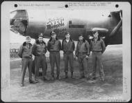 Asisbiz USAAF 42 107808 B 26C Marauder 391BG572BS P2X Memphis Blues with Capt Jobe and crew England 13 Aug 1944