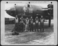Asisbiz USAAF 42 95818 B 26B Marauder 391BG574BS 4LL Lady Chance with Lt Lowder and crew England 9 Aug 1944 01