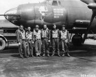 Asisbiz USAAF 42 95818 B 26B Marauder 391BG574BS 4LL Lady Chance with Lt Lowder and crew England 9 Aug 1944 02