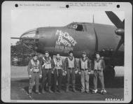 Asisbiz USAAF 42 95836 B 26B Marauder 391BG572BS P2N McCartys Party with Lt Mccarty England 8 Jun 1944 01