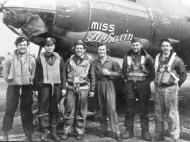 Asisbiz USAAF 42 95844 B 26G Marauder 391BG575BS O8D Miss Behavin with crew 01
