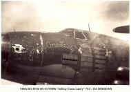 Asisbiz USAAF 42 95896 B 26B Marauder 344BG497BS 7IC Johnny Come Lately with 1644 missions 01
