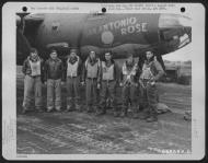 Asisbiz USAAF 42 95978 B 26B Marauder 391BG573BS San Antonio Rose with Lt Logan and crew England 13 Aug 1944 01
