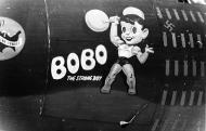 Asisbiz USAAF 42 96022 B 26B Marauder 320BG441BS 19 Bobo the Strong Boy Ya nose art 01