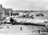 Asisbiz USAAF 42 96282 B 26F Marauder 322BG450BS ERO after crashing at Hendon 27 Jul 1944 01