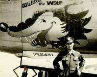 Asisbiz USAAF 43 34381 B 26G Marauder 344BG494BS K9D Willie the Wolf 02