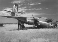 Asisbiz USAAF 44 68154 B 26G Marauder 397BG599BS 6BS George D Curphey landing accident nr Furth Germany 2 Jun 1945 01