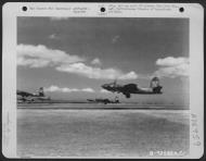 Asisbiz USAAF B 26 Marauder 319BG437BS taking off from their base in Sardinia 02