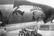 Asisbiz USAAF B 26 Marauder 322BG Texas Peacemaker nose art at Hamme Germany 19 May 1945 02