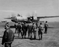 Asisbiz USAAF B 26 Marauder French Airforce landing 1944 01