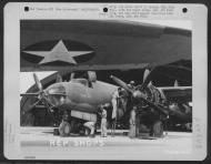 Asisbiz USAAF B 26 Marauder Sun Down at 13th Air Deport Group Tontouta Air Base in Noumea New Caledonia 20 Jul 1943 01