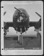 Asisbiz USAAF B 26B Marauder close up of the nose section 27 Nov 1943 01