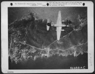 Asisbiz USAAF B 26B Marauder over the drop area St Tropez France 14 Aug 1944 01