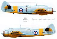 Asisbiz Beaufighter TT RAF RD761 used for target towing Seletar Singapore 16th May 1960 Profile 0A