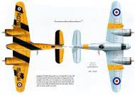 Asisbiz Beaufighter TT RAF RD761 used for target towing Seletar Singapore 16th May 1960 Profile 0B