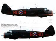 Asisbiz Beaufighter IF RAF 29Sqn ROB V8324 Mellersh West Malling Aug Sep 1942 Profile 0C