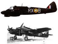 Asisbiz Beaufighter IIF RAAF 456Sqn RXB T3017 WgCdr CGC Olive Valley Mec 1941 Profile 0A