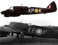 Asisbiz Beaufighter IIF RCAF 409Sqn KPK T3145 SqnLdr RM Trousdale Coleby Grange Mar 1942 Profile 0A