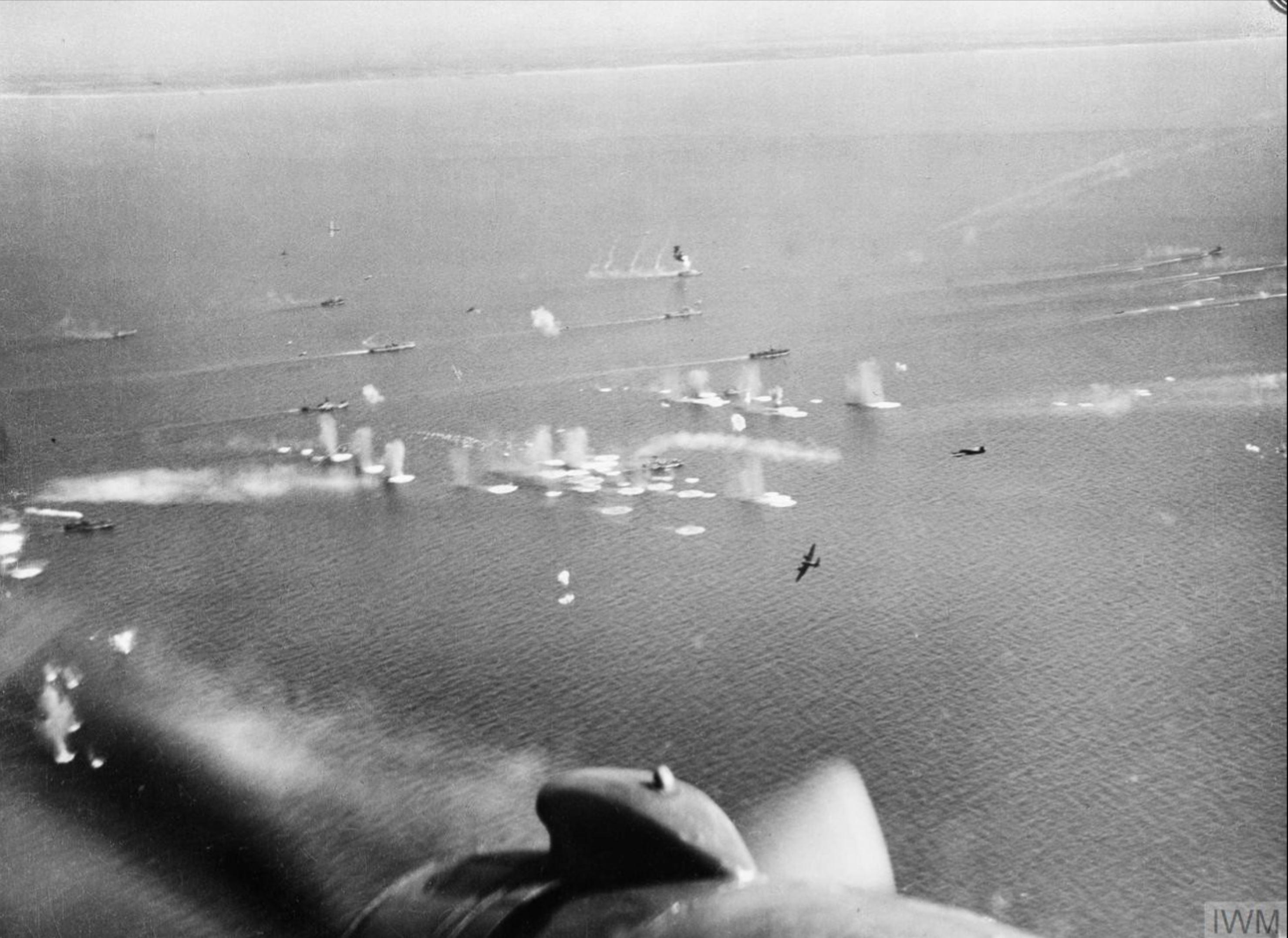 Beaufighter North Coates Strike Wing attack convoy off Scheveningen Holland IWM C5812