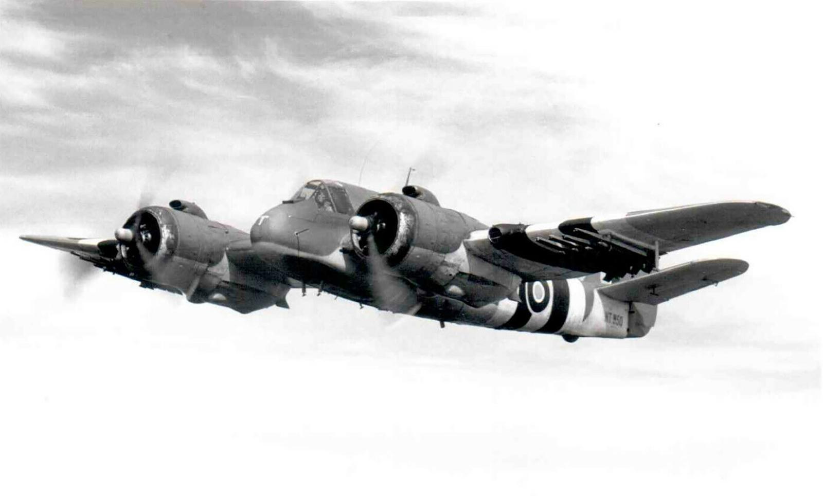 Beaufighter TFX RAF 236Sqn MBT NT950 Coastal Command England June 1944 ebay 01